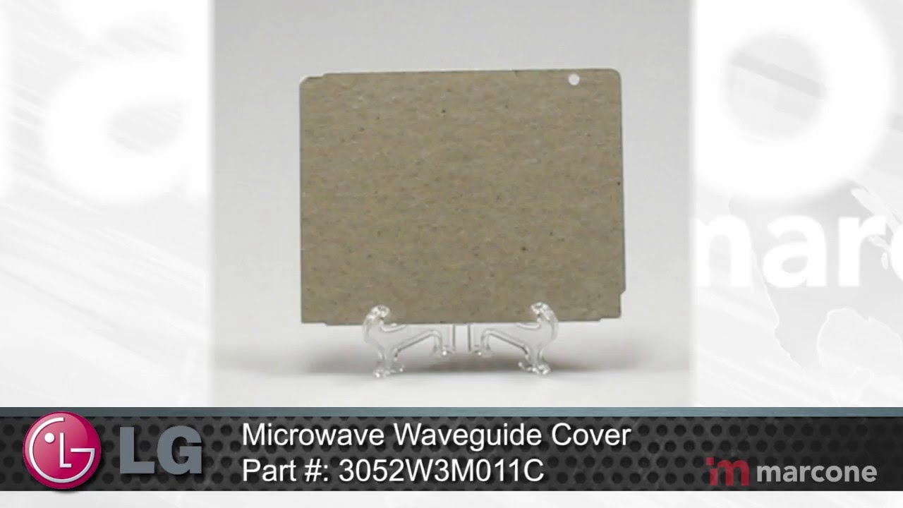 lg microwave waveguide cover part 3052w3m011c