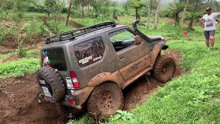Jimny off-road and mud