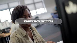 Education Studies... The student journey