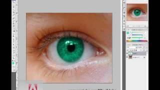 Adobe Photshop C3 or C4 change hair color