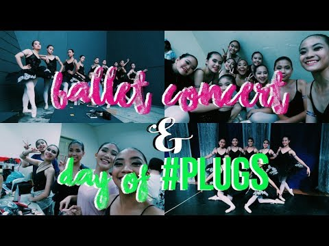 VLOG: BALLET CONCERT & DAY OF #PLUGS