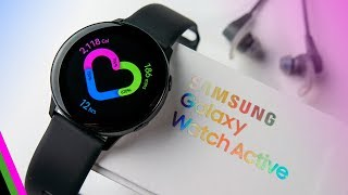 Samsung Galaxy Watch Active // The Fitness Review