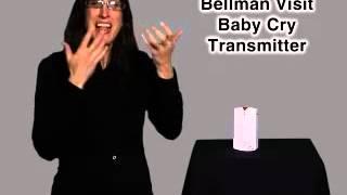 Bellman & Symfon Visit Baby-Cry/Universal Sound Transmitter - Product SKU: BE1290