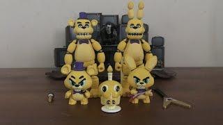 DRG's FNAF Custom Figures #1- Fredbear's Family Diner Animatronics