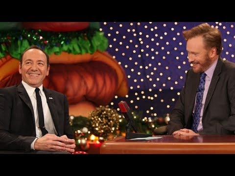 Kevin Spacey Interview Part 01 - Conan on TBS