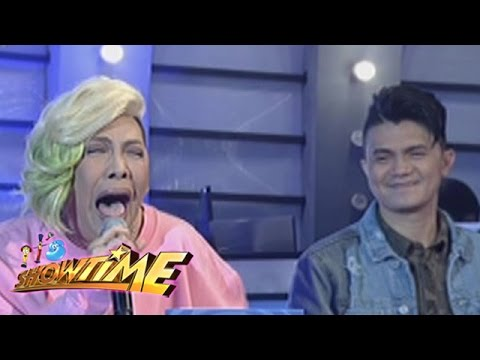It's Showtime: Vice and Vhong imitate 'Nung Ako'y Bata Pa' trending video