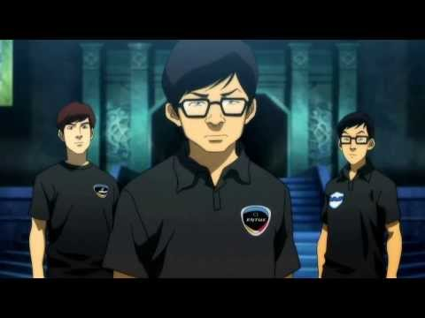 League of Legends World Championship Finals 2013 intro | comic scene