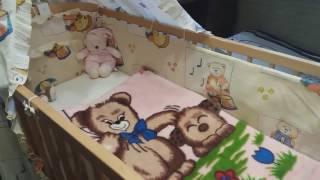 Кроватка, балдахин, ограничитель, нужны ли она с рождения?