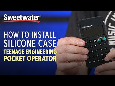 How to Install a Silicone Case on a Teenage Engineering Pocket Operator