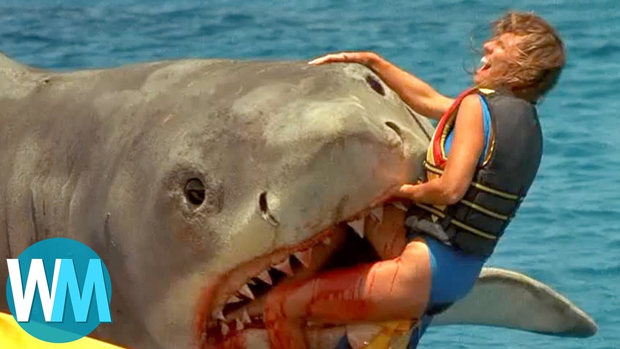 Top 10 Scariest Movie Shark Attacks   YouTube Top 10 Scariest Movie Shark Attacks