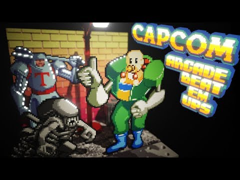 Capcom Arcade Beat Em Ups