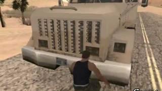 CJ es reclutado a dar el Servicio Militar 2/3 - Gta San Andreas Loquendo