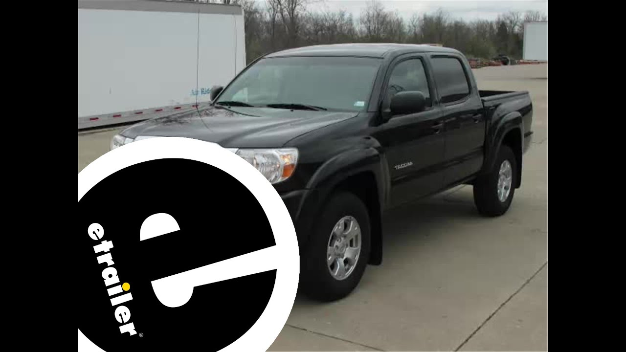 maxresdefault installation of a trailer hitch on a 2010 toyota tacoma etrailer  at fashall.co