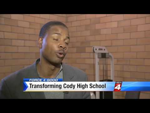 New Carpet Installation at Cody High School   WDIV Force 4 Good Feature HD