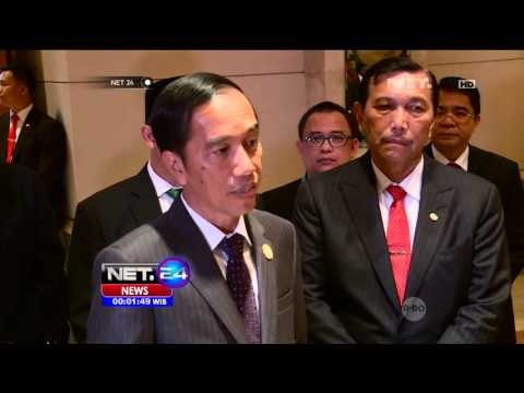 Presiden Jokowi Bertemu Dengan Presiden Palestina Di KTT OKI Di Jakarta - NET24