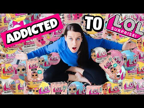 HELP! ADDICTED TO LOL SURPRISE DOLLS! True Story of an LOL Surprise EXTREME Collector! PART 2 | SKIT