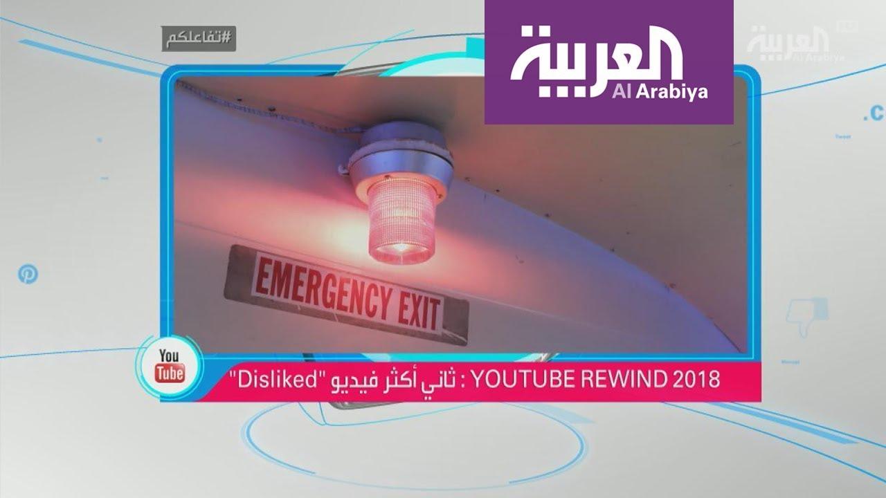 تفاعلكم : أكثر فيديو حصل على عدم إعجاب (dislike) في 2018
