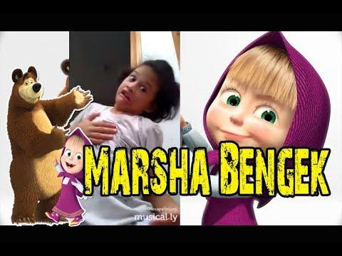 BOOMING!!!! Kumpulan Video Ngakak MARSHA BENGEK Tergokillllll!!!!