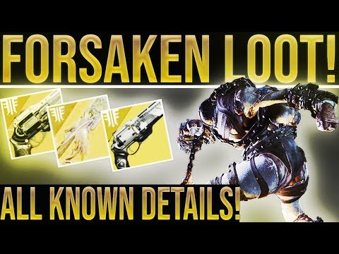 Destiny 2 Forsaken. HUGE NEWS UPDATE! Future Expansions, Pre-Order Bonus, Gambit, New loot, & More!