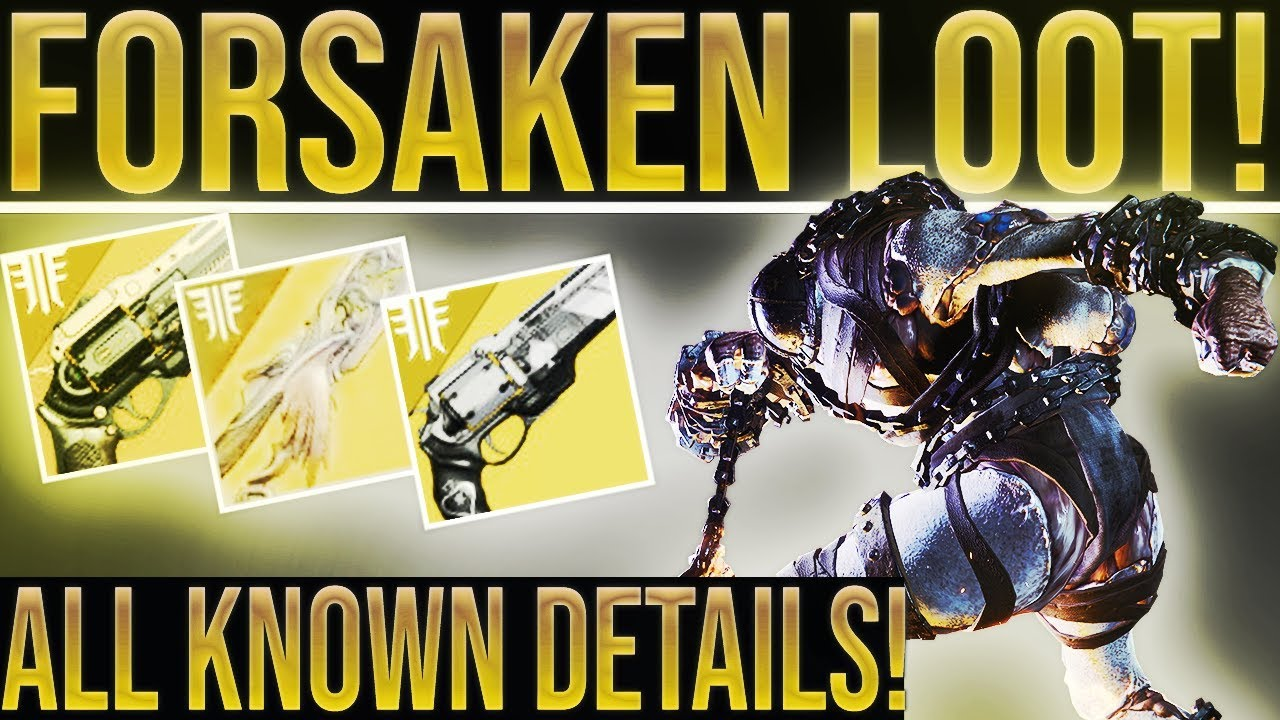 9c4b67fcbe9 Destiny 2 Forsaken. HUGE NEWS UPDATE! Future Expansions