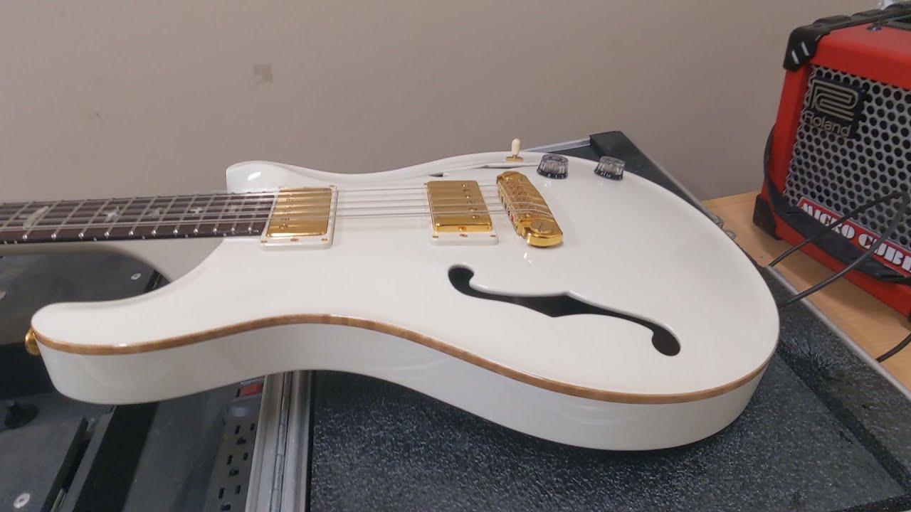 Download PRS Hollowbody 12-String - Antique White