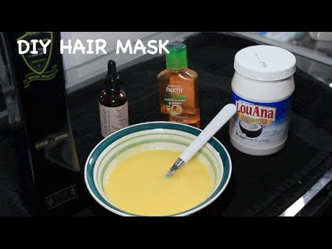 Diy Hair Mask For Extremely Damaged
