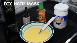 DIY Hair Mask for EXTREMELY Damaged Hair