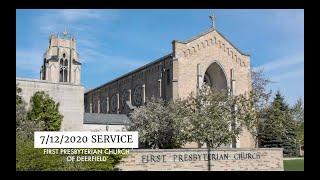 FPCD Sunday Service July 12th 2020