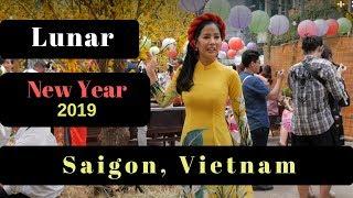 Vietnamese Lunar New Year 2019: Saigon, Vietnam