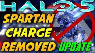 Spartan Charge and Ground Pound Removed From Halo 5! New Halo Update HCS Maps To Be Added!
