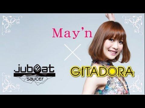 May'n X jubeat and GITADORA collaboration lets you play