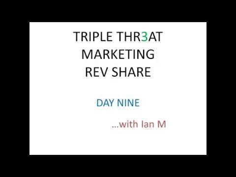 Triple Threat Rev Share Day 9 Strategy Review Proof 2015 Ian Michaels