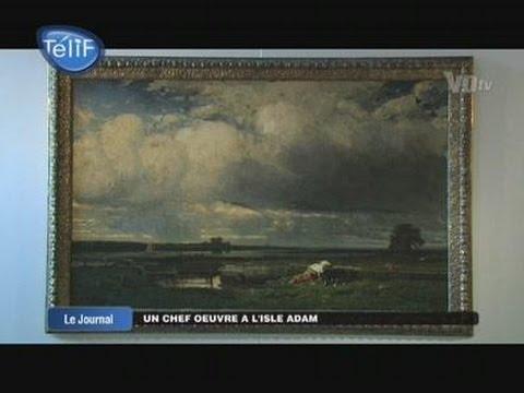 Un chef d'œuvre de Jules Dupré à l'Isle Adam