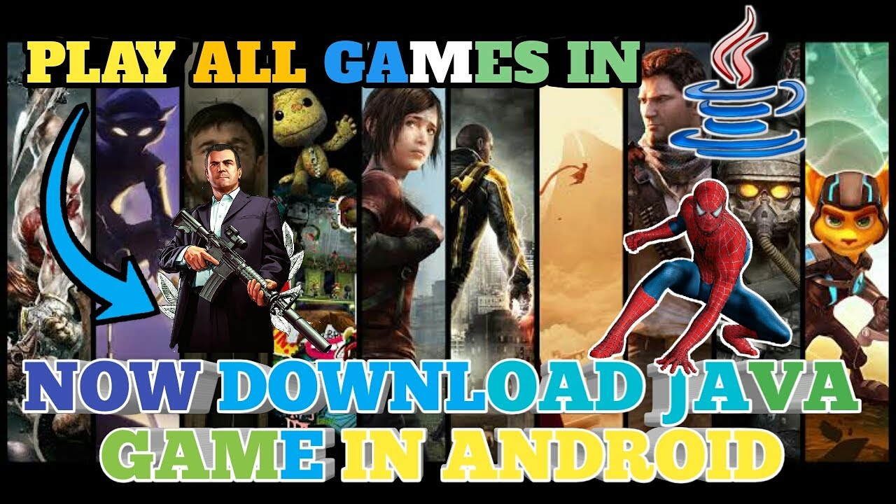 How to download play and Download java game on android