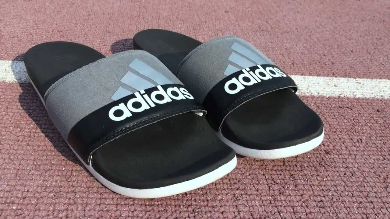 6578873f2 Adilette Supercloud Plus Slides Review - YouTube