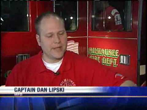 Firefighters Raise Funds For Injured Veterans