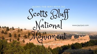🏞Through the Window - Scott's Bluff National Monument - Nebraska