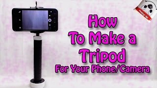 How To Make A Tripod For Phone | Camera | Easy DIY