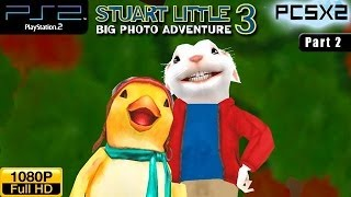 Stuart Little 3: Big Photo Adventure - PS2 Walkthrough - part 2 (Garden)