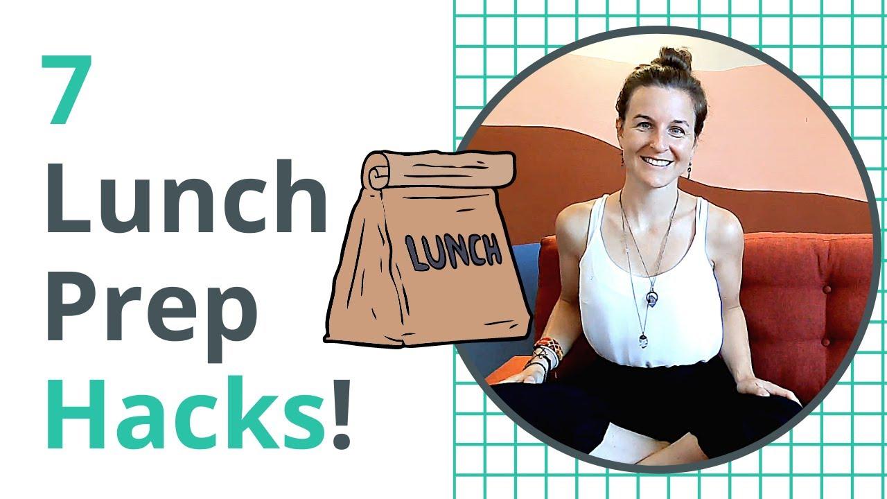 7 Back-To-School Lunch Prep Hacks