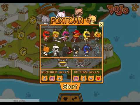 flash games StrikeForce Kitty 2 Коты Ударная сила 2 финал четырнадцатая серия