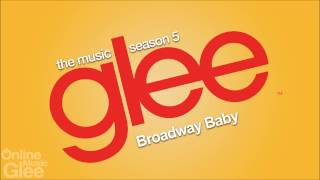 Glee - Broadway Baby [FULL HD STUDIO]