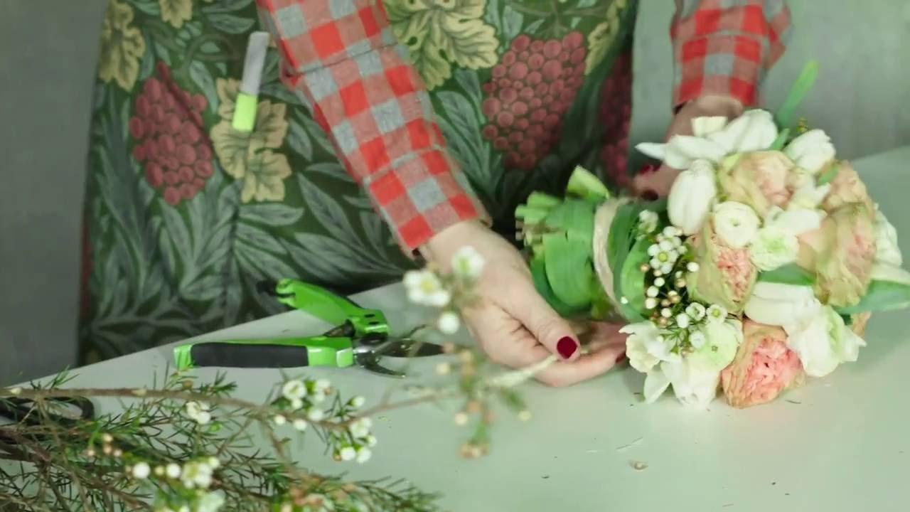 Mazzi Di Fiori Youtube.Rosalba Piccinni Bouquet Sposa Tutorial Youtube