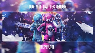 *FREE DOWNLOAD* Fortnite Twitter Header Template
