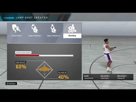 NBA 2K20 best jumpshot for sharpshooters and shot creators