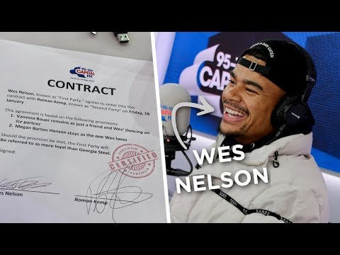 Wes Nelson Signs A Contract To Prove His Love To Megan Barton Hanson ✍️ | FULL INTERVIEW