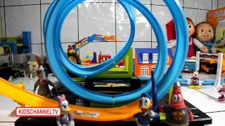 Hot Wheels Mega Loop Trackset Donald Duck | Kids Toys Mainan Anak Anak