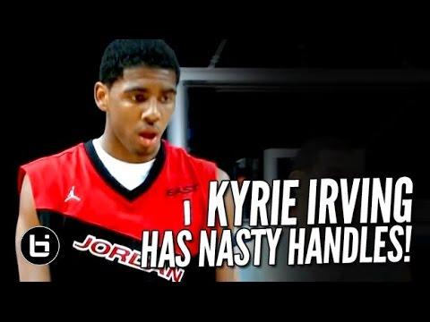 Kyrie Irving Has NASTY Handles & SICK Game! Official High School Mixtape!