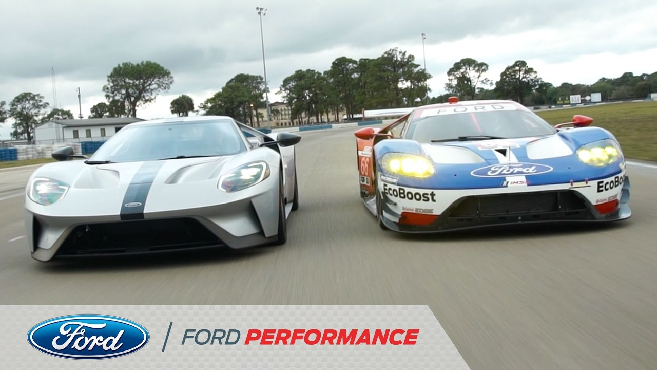 The Ford GT Race Car Meets the Road Car | Ford GT | Ford Performance & The Ford GT Race Car Meets the Road Car | Ford GT | Ford ... markmcfarlin.com