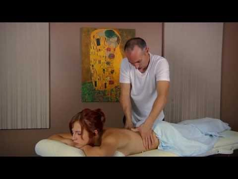 Back Massage to Reduce Lower Back Pain & Relaxation - ASMR